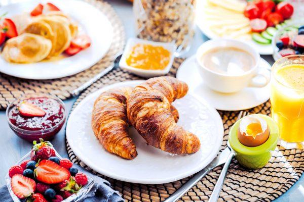 Ontbijt en broodmaaltijd