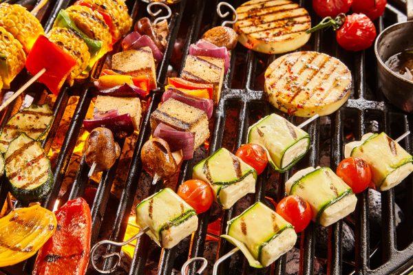 Vegetarisch barbecuebuffet